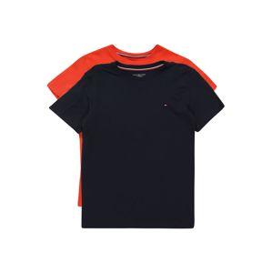 Tommy Hilfiger Underwear Pyžamo '2P CN TEE SS'  červená / námornícka modrá