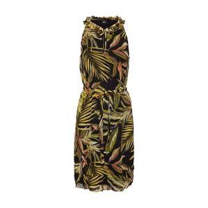S.Oliver BLACK LABEL Letné šaty  zmiešané farby / čierna