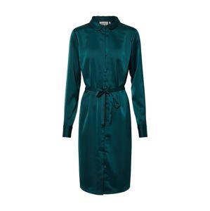 Another Label Košeľové šaty 'Peck'  zelená