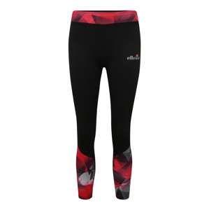 ELLESSE Športové nohavice 'MILENA'  červené / čierna