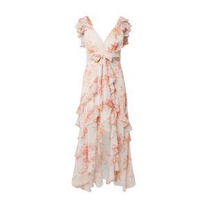 Forever New Letné šaty 'Ellery'  ružová / biela