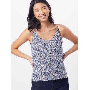 Iriedaily Top 'Bloomie String'  modré