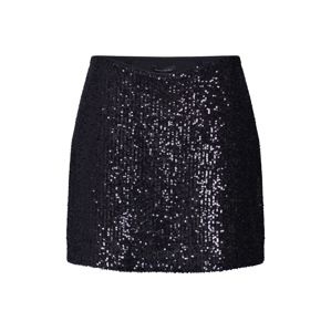 Banana Republic Sukňa 'SEQUIN MINI SKIRT'  čierna