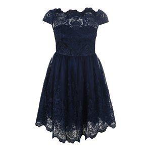 Chi Chi Curve Kokteilové šaty 'APRIL'  modré