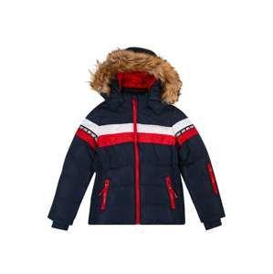 Cars Jeans Zimná bunda 'KIDS NOVALIE POLY'  námornícka modrá / červená