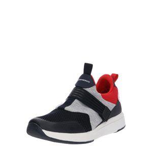 ANTONY MORATO Nízke tenisky  sivá / svetločervená / čierna