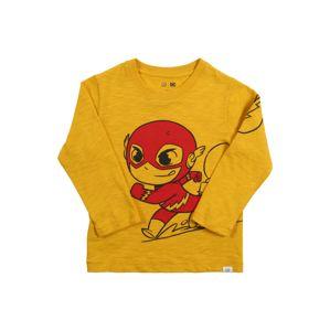 GAP Tričko 'SUPERFRIENDS'  zlatá žltá / svetločervená / čierna