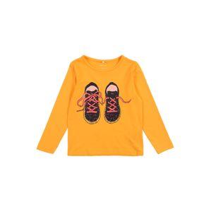 NAME IT Tričko  zmiešané farby / oranžová
