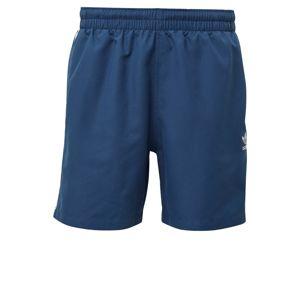 ADIDAS ORIGINALS Plavecké šortky  biela / modré