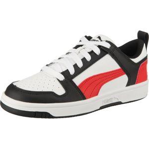 PUMA Tenisky 'Rebound'  biela / červené / čierna