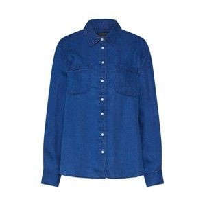 Banana Republic Bluse 'LS DILLON UTILITY DENIM'  modrá denim