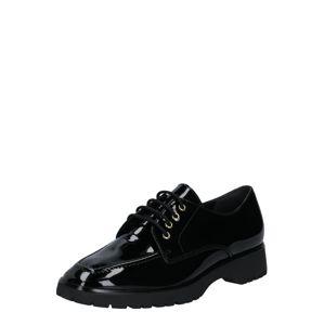 Högl Šnurovacie topánky  čierna