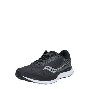 saucony Bežecká obuv 'Guide 13'  striebornosivá / biela / čierna