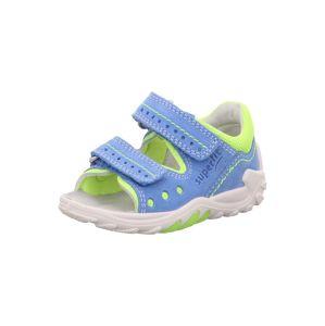 SUPERFIT Sandále 'FLOW'  žlté / modré
