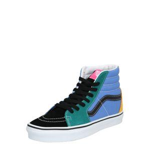 VANS Členkové tenisky 'SK8-Hi'  modré / zelená / čierna