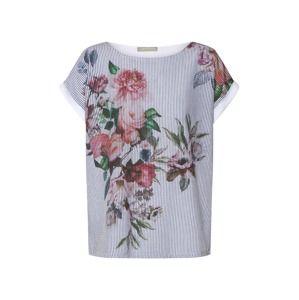 Betty & Co Tričko  zmiešané farby / biela