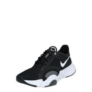 NIKE Športová obuv 'SUPERREP GO'  sivá / čierna / biela