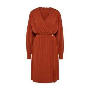 POSTYR Šaty 'POSKLOKKEBLOMST DRESS'  hrdzavo červená