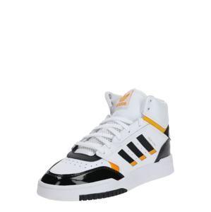 ADIDAS ORIGINALS Členkové tenisky 'DROP STEP W'  čierna / biela