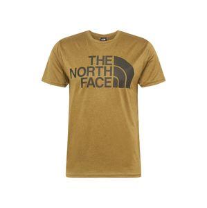 THE NORTH FACE Funkčné tričko  kaki / čierna