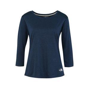 THE NORTH FACE Funkčné tričko 'INLUX'  modré / biela