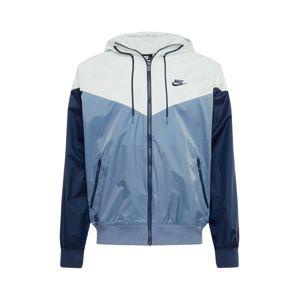 Nike Sportswear Tréningová bunda  dymovo modrá / tmavomodrá