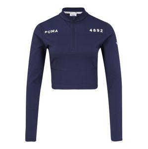PUMA Funkčné tričko 'PUMA x SG CR'  tmavomodrá