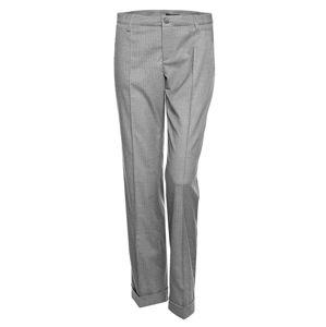 OPUS Plisované nohavice 'Machiko'  sivá melírovaná