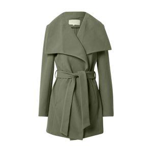 VILA Prechodný kabát 'Pukti'  kaki