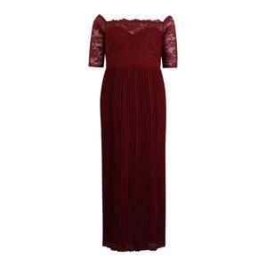 Chi Chi Curve Večerné šaty 'Whitely'  burgundská
