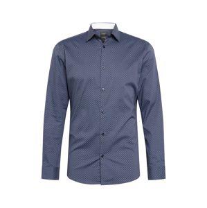 SELECTED HOMME Biznis košeľa  svetlomodrá / námornícka modrá