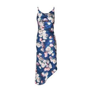 Chi Chi London Letné šaty 'Elysha'  námornícka modrá / zmiešané farby