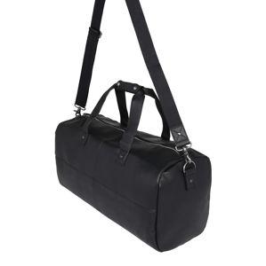 BURTON MENSWEAR LONDON Cestovná taška  čierna