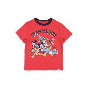 GAP Tričko 'DIS SS MICKEY GRAPHICS'  červená