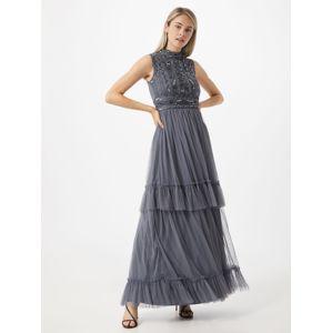 Frock and Frill Večerné šaty  modrosivá