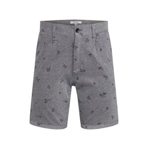 Only & Sons Chino nohavice 'onsCUTON KNITTED PIQUE AOP SHORTS'  sivá