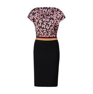 LAUREL Puzdrové šaty  čierna