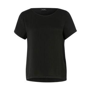 VILA Tričko 'VIMelli'  čierna