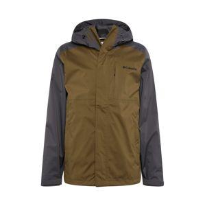 COLUMBIA Zimná bunda 'Cabot Trail'  olivová / čierna