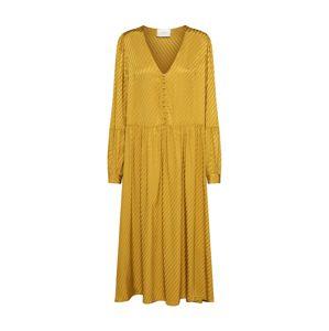 JUST FEMALE Košeľové šaty 'Magna'  žlté