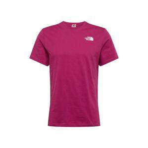THE NORTH FACE Funkčné tričko 'Red Box'  fialová