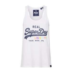 Superdry Top 'Sequin Pop Entry Vest'  námornícka modrá / marhuľová / ružová / biela