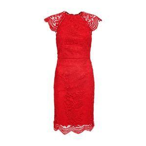 Chi Chi London Kokteilové šaty  červené