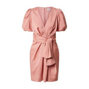 Forever New Šaty 'Ellie Jacquard Mini Dress'  ružová
