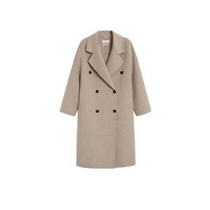 MANGO Prechodný kabát 'Carol'  svetlosivá
