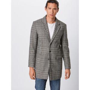 Lindbergh Prechodný kabát 'Checked coat'  sivá