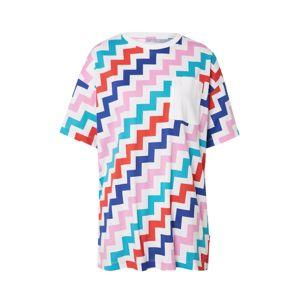 CONVERSE Oversize tričko  zmiešané farby