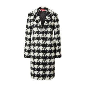 HUGO Prechodný kabát 'Maroni'  biela / čierna