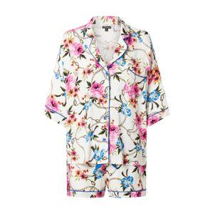 PJ Salvage Pyžamo 'Love & Chains'  šedobiela / zmiešané farby