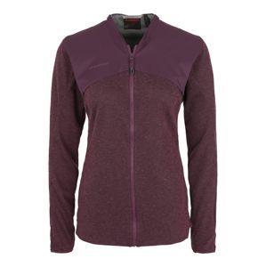 MAMMUT Funkčná flisová bunda 'Alvra ML Jacket Women'  fialová